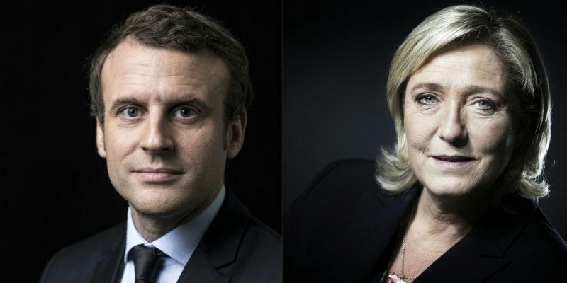 sondaggi elettorali, elezioni francia 2017, macron, le pen