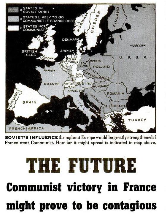 geopolitica, mappe comunismo capitalismo