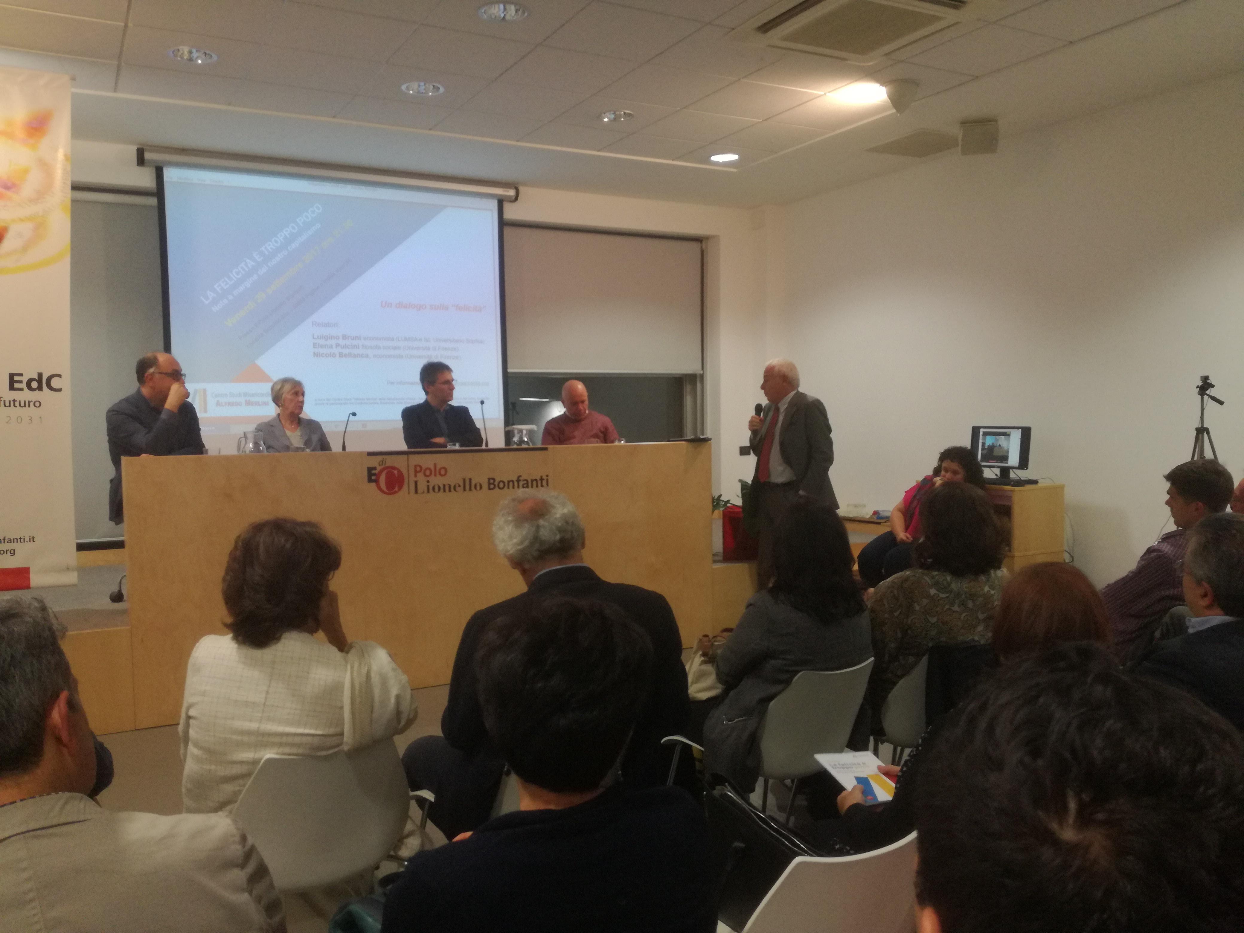 Bruni, Bellanca, Pulcini e Tarquinio a LoppianoLab 2017