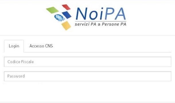 NoiPa cedolino novembre, stipendio online