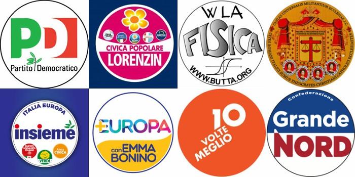 Elezioni politiche 2018: simboli ammessi ed esclusi