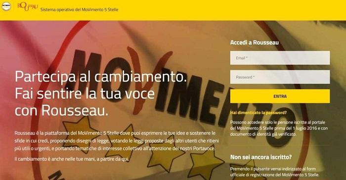 Elezioni politiche: parlamentarie M5S al via, come si vota online