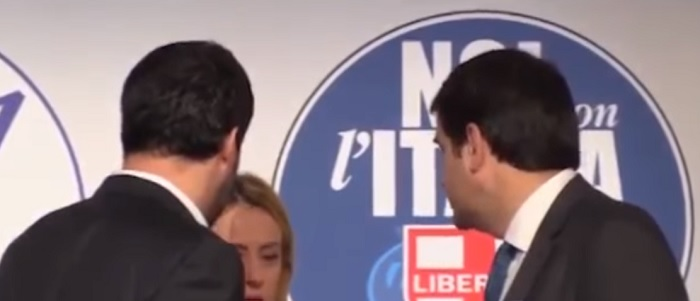 Elezioni 4 marzo 2018: fuorionda Salvini-Meloni-Fitto su ultimi sondaggi