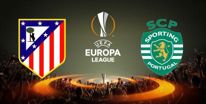 Europa League Atlético Madrid - Sporting Lisbona