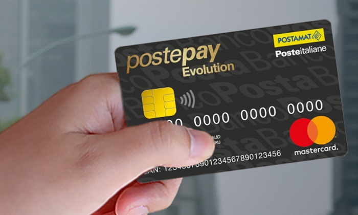 huge selection of 01362 6db2e Poste Italiane: Postepay Evolution e acquisti online. Il ...