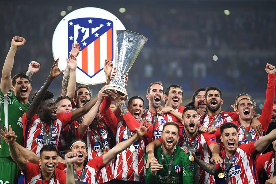 Atletico Madrid albo d'oro Europa League winners