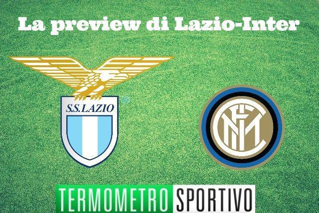Serie A: preview Lazio-Inter