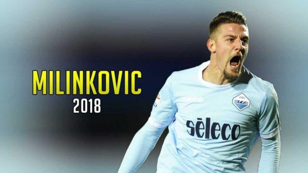 Milinkovic-Savic Calciomercato 2018 Lazio