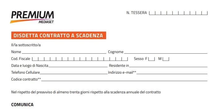 Mediaset Premium Recesso Contratto: Come Procedere?