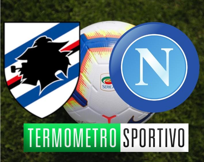 Sampdoria-Napoli dove vedere in streaming o tv serie A 2018/2019