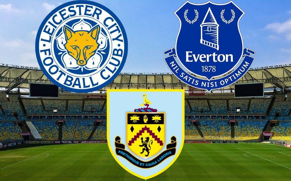 Premier League Leicester Everton Burnley