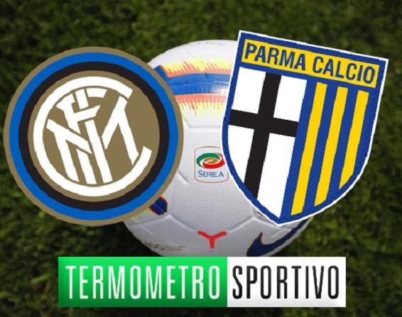 Dove vedere in streaming o in tv la diretta Inter-Parma live