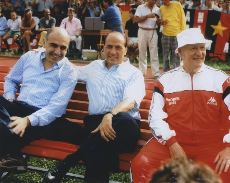 Berlusconi Galliani Monza