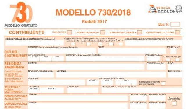 Modello 730 integrativo 2018 scadenza sanzioni e come farlo