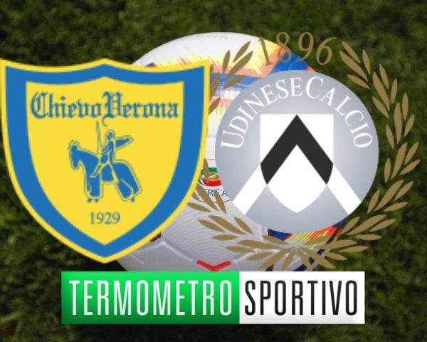 Diretta Chievo-Udinese in streaming o in tv, dove vedere, 5a giornata serie a 2018/2019