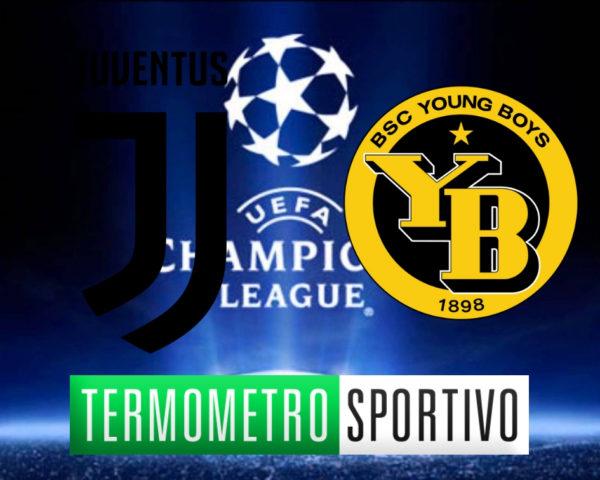 Diretta Juventus-Young Boys streaming live dove vedere Champions League 2018/2019, Diretta Juventus-Young Boys streaming live dove vedere Champions League 2018/2019, formazioni Juventus Young Boys