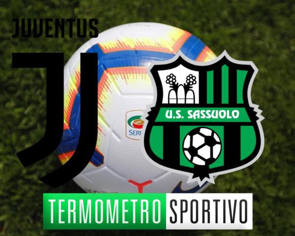 formazioni Juventus-sassuolo 4a giornata serie A 2018/2019 streaming diretta live su Termometro Sportivo