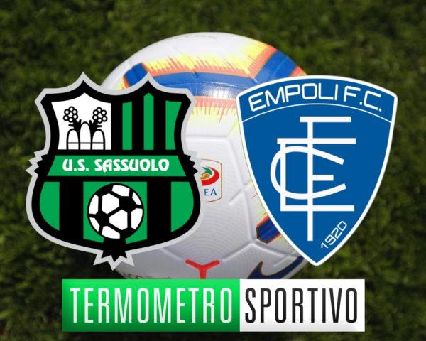Diretta Sassuolo-Empoli, dove vedere in diretta streaming o in TV, 5a Serie A 2018/2019