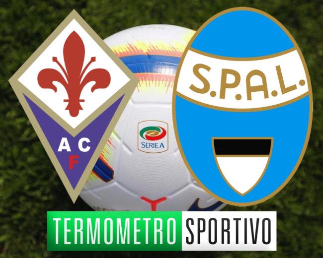 Dove vedere Fiorentina-Spal in diretta streaming o in TV
