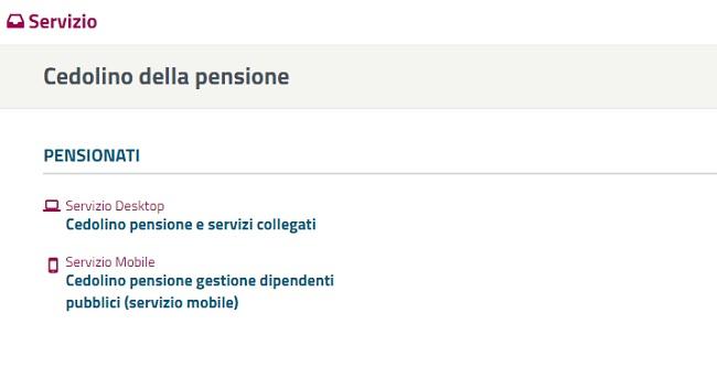 Cedolino pensione Inps novembre 2018 online come vedere il pagamento