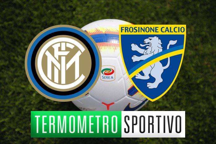 Inter-Frosinone: diretta streaming e TV, ecco dove vederla - Serie A