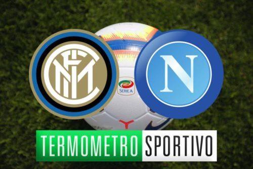Diretta Inter-Napoli: quote, streaming e risultato finale (1-0)