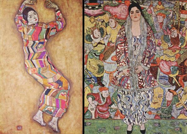Klimt e Schiele - eros e psiche