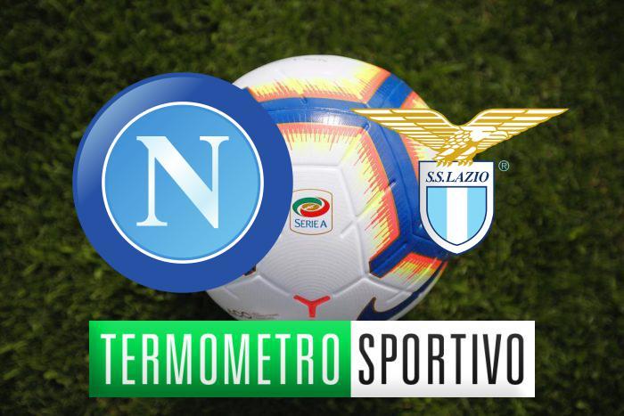 Napoli-Lazio: diretta streaming, formazioni e cronaca in tempo reale