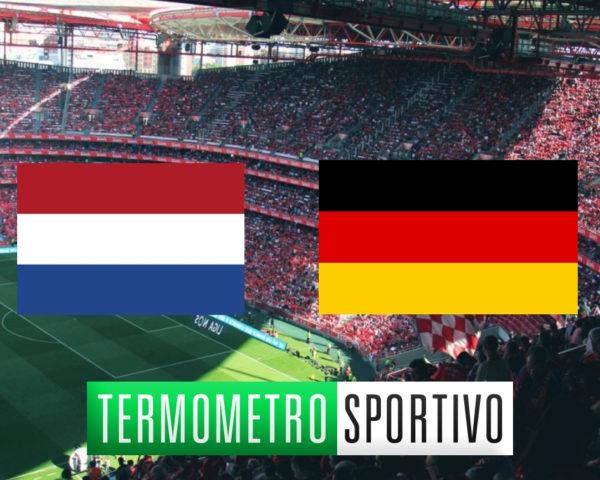 Nations League Olanda-Germania