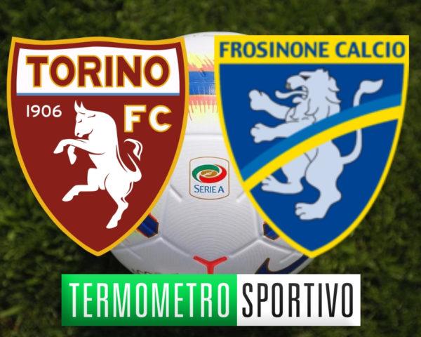 Diretta Torino-Frosinone streaming risultato live serie a 2018/2019 dove vedere