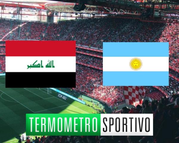 quote e pronostici, formazioni Iraq-Argentina, Dove vedere Iraq Argentina in diretta streaming e in TV