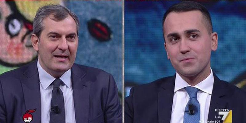 """Mario Calabresi contro Luigi Di Maio """"avete querelato un morto"""""""