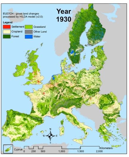 riforestazione Europa
