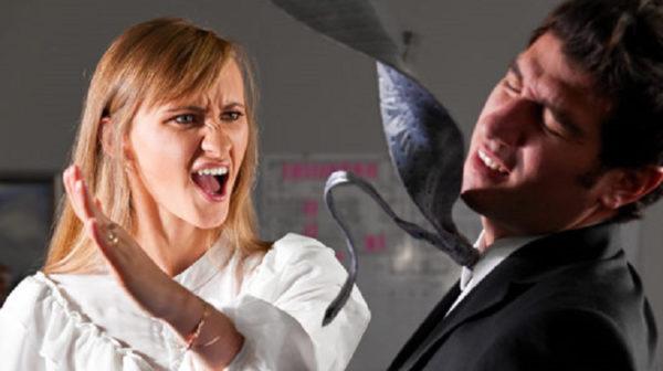 violenza domestica su uomini e donne. non c'è gran differenza statistica. Ecco le pene