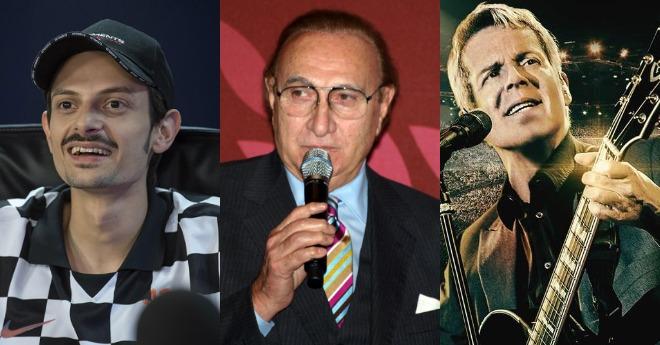 Sanremo Giovani 2018 Pippo Baudo, Fabio Rovazzi, Claudio Baglioni