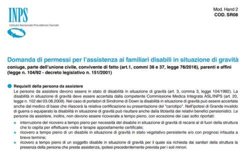 Legge 104: permessi e agevolazioni moduli pdf