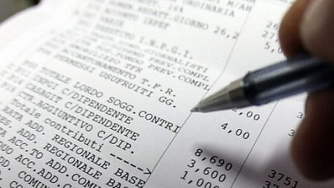 Conguaglio busta paga e denunce contributive 2018, la circolare