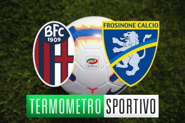 Dove vedere Bologna-Frosinone diretta streaming e TV