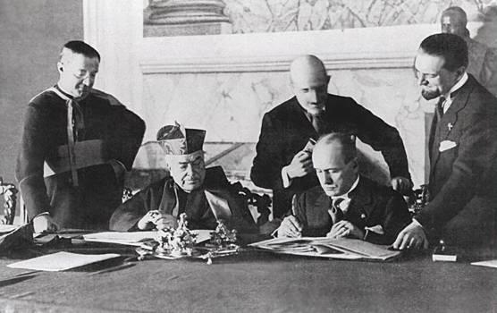 Patti Lateranensi 11 febbraio 1929, articoli e firmatari. Cosa cambiò