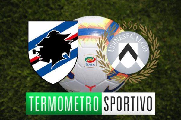 Sampdoria-Udinese dove vederla in diretta streaming e tv