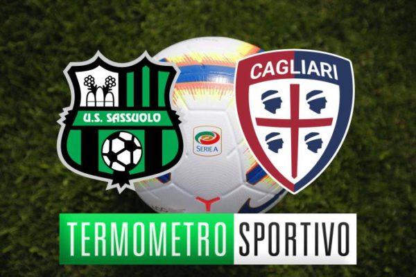Sassuolo-Cagliari dove vederla in diretta streaming e tv