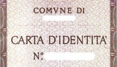 Rinnovo carta d'identità cartacea