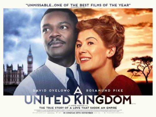 A United Kingdom: trama, cast e storia del film. Stasera su Rai 3