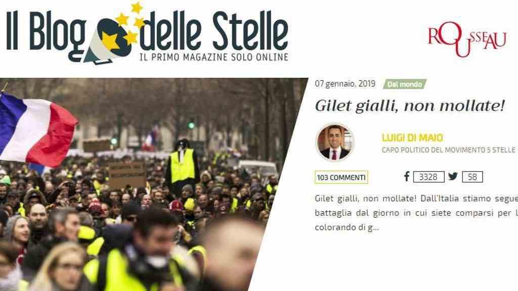 Elezioni Europee 2019: perché i 5 stelle cercano l'appoggio dei gilet gialli