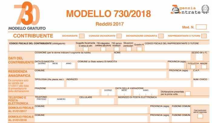 Nuove detrazioni Modello 730 precompilato 2019: quali sono e importo