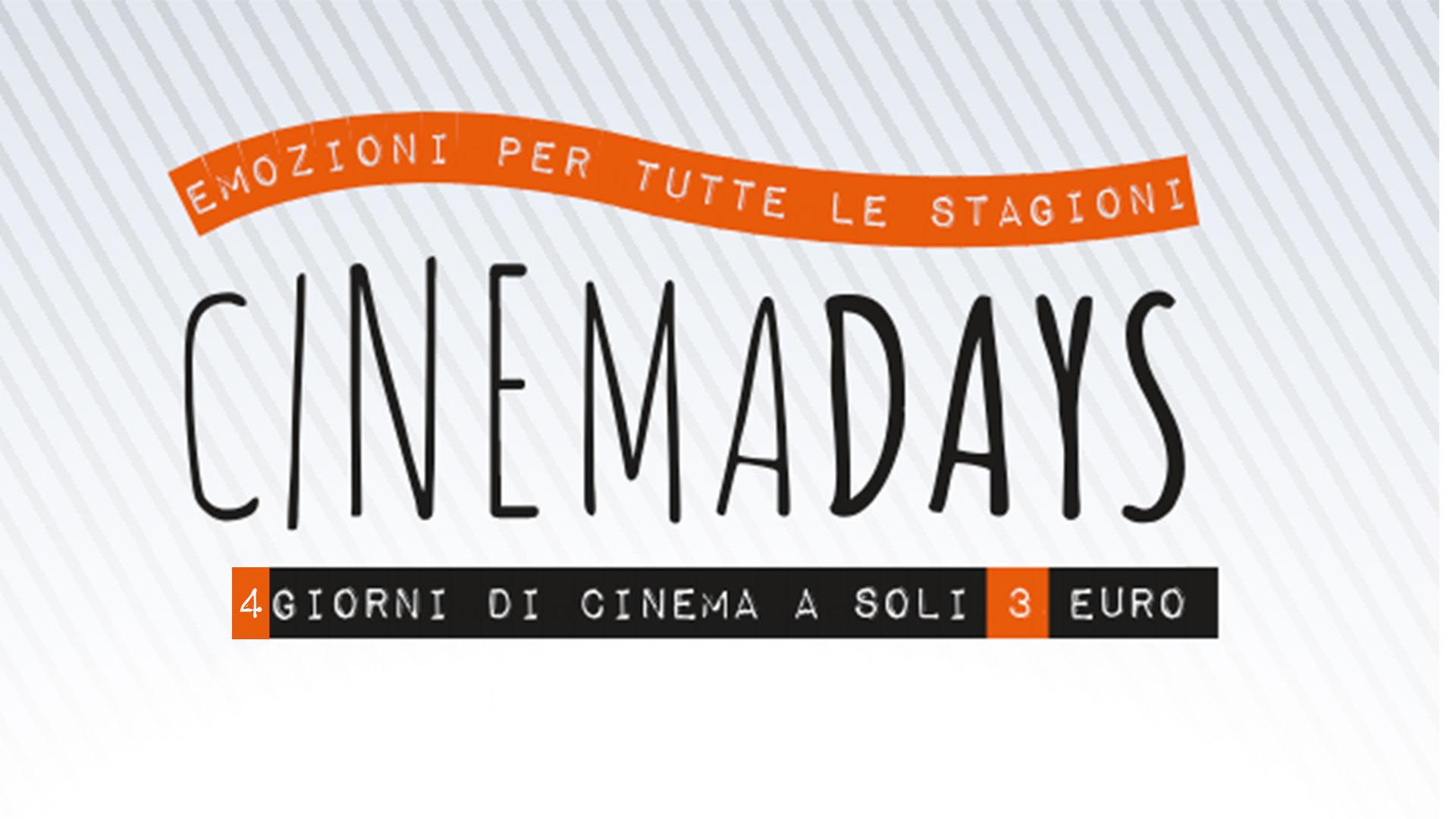 CinemaDays 2019, cinema aderenti, date e prezzo unico biglietti