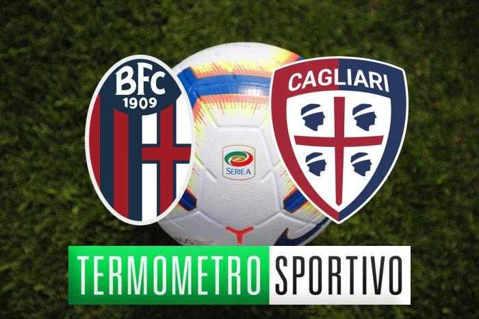 Diretta Bologna-Cagliari streaming, formazioni e risultato - LIVE