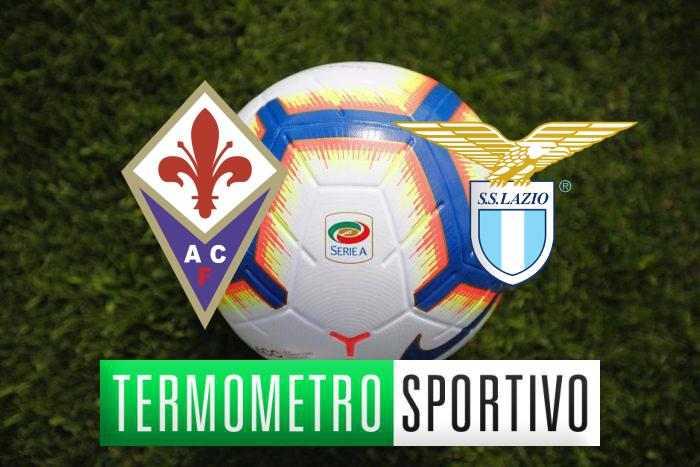 Diretta Fiorentina-Lazio streaming, formazioni e quote - LIVE