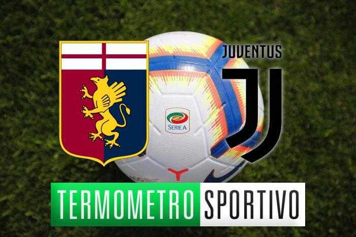 Diretta Genoa-Juventus streaming, formazioni e risultato - LIVE
