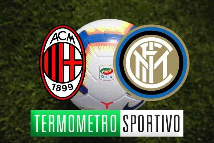 Diretta Milan Inter streaming, highlights e risultato - LIVE